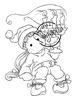 Tilda with Christmas Candle