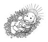 Little Holy Baby   per stuk
