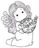 Tilda with a Little Dove   per stuk