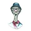 Hipster Ostrich