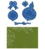 Pinecone & Ornament set   per set