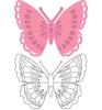 Tiny's Butterfly 1   per set
