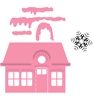Christmas Village (laag)   per set