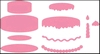 Cake   per set