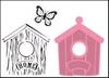 Birdhouse home   per set