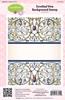 Scrolled Vine Background Stamp