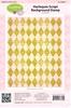 Harlequin Script Background Stamp