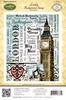 London Background Stamp   per stuk