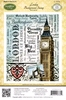 London Background Stamp