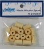 Whole Wooden Spools 16 st.