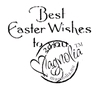 Beste Easter Wishes to You   per stuk