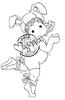 Ballerina Bunny Tilda   per stuk