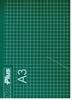 Snijmat op A3 formaat groen