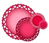 Heart Circles   setje van 6