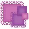 Heart Squares   setje van 4