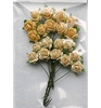 Rose Bunches Yellow   per set