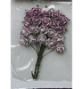 Rose Bunches Lavender   per set