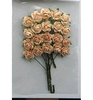 Rose Bunches Peach   per set