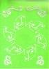Doosje zeshoek A4 stencil   per stuk