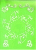 Doosje zeshoek A4 stencil