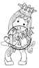Princess Tilda with Curl Mini