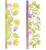 Card Edges, Botanical & Rose Garden