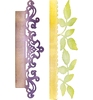 Card Edges, Decorative Accent & Leaves   per stuk