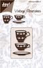 Koffie- en thee-kopje   per stuk