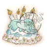 Little Rose Cake   per stuk