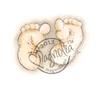 Chubby Baby Feet   per stuk