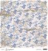 Vintage Blue Ink Roses