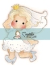 Runaway Bride Tilda mini   per stuk