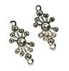 Metalen ornamentje   per zakje