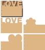 Love boekje   per set