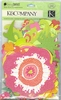 Die-Cut Berry Sweet Floral   per set