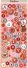 Alfabet stickers   per vel
