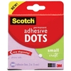 Adhesive Small Permanent Dots van Scotch 5 mm