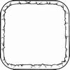 Frame-vierkant   per stuk