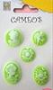 Cameo's Green   setje van 5
