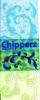 Chipperz boekje Blauw/Groen   per stuk