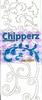 Chipperz boekje Wit   per stuk