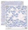 Blue Vintage Hydrangea   per vel