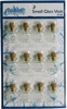Small Glass Vials 12 stuks   per set