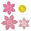 Anemone Flower Topper   setje van 4