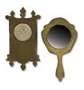 Mini Mirror & Wall Clock