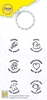 Circle Clear Stamp Baby NL   per set
