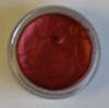 Lava Red waterpaint met mica deeltjes   per potje