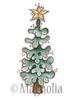 Peaceful Christmas Tree    per stuk