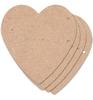 Scrapbook hart   per stuk