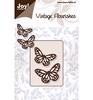 Vintage Flourishes 2 Vlinders   per setje
